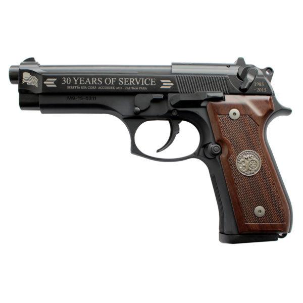 "PISTOLET BERETTA M9 ""30eme ANNIVERSAIRE"" BERNIZAN"