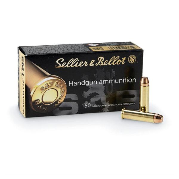 CARTOUCHE SELLIER & BELLOT 357 Magnum BERNIZAN