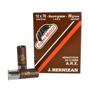 SUPER MATCH Cartouche MARRON ARX BG Cal.12X70 BERNIZAN