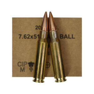 Munition GGG calibre 7.62x51 (308 Winchester) FMJ 147gr BERNIZAN