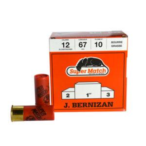 SUPER MATCH Cartouche ROUGE X BG Cal.12X67 BERNIZAN