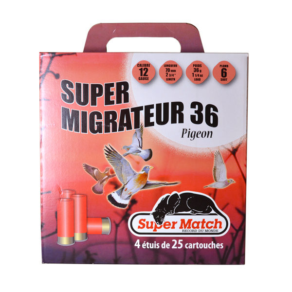 SUPER MATCH Pack MIGRATION Cal.12X70 BERNIZAN