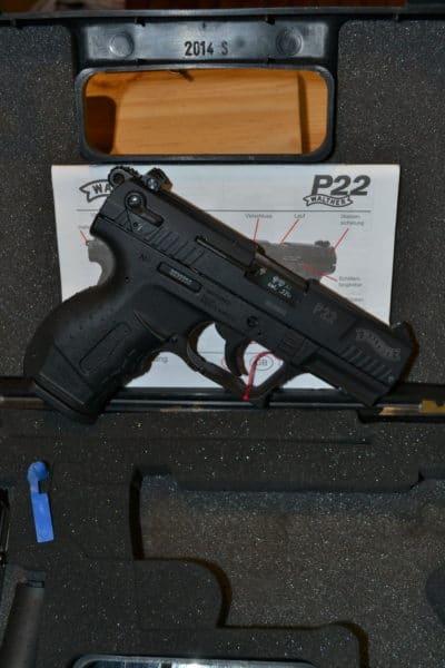 WALTHER P22 ETS BERNIZAN