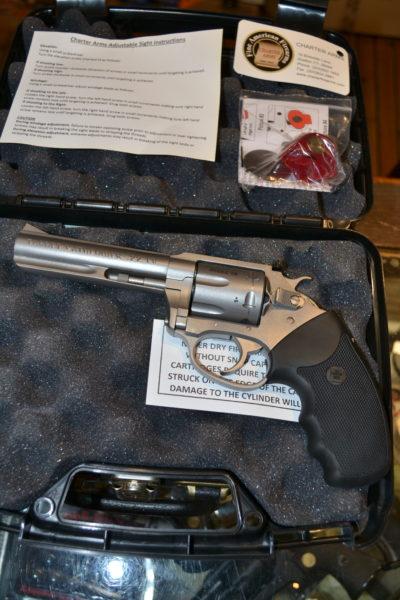REVOLVER Charter Arms Target Pathfinder occasion BERNIZAN
