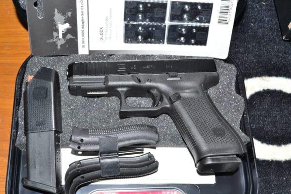glock 45MOS armurerie BERNIZAN